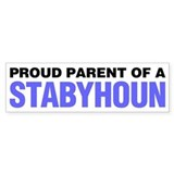 Proud Parent of a Stabyhoun Car Sticker
