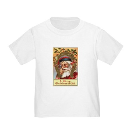 Vintage Santa Toddler T-Shirt