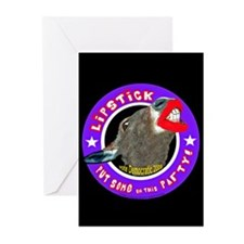 NEW LIPSTICK LINE Greeting Cards (Pk of 10)