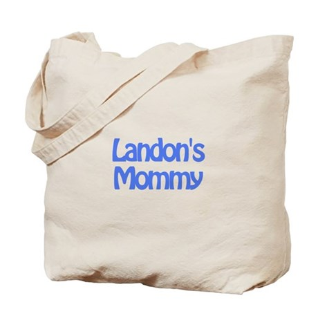 Landon's Mommy Tote Bag