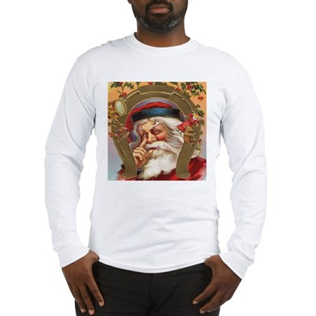 Vintage Santa Long Sleeve T-Shirt