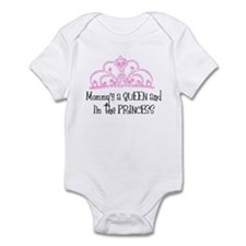 Cute Black queen Infant Bodysuit