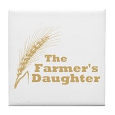 The Farmer's Daughter Tile Coaster