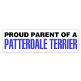 Proud Parent of a Patterdale Terrier Bumper Sticker