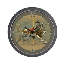 Carousel Chimera Wall Clock
