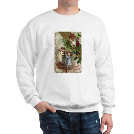 Vintage Christmas Card Sweatshirt