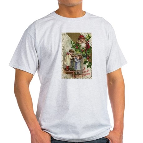 Vintage Christmas Card Light T-Shirt