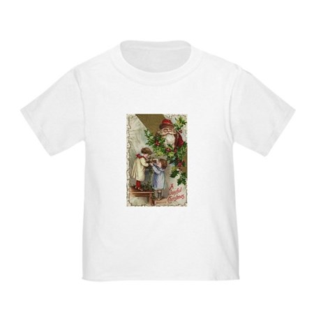 Vintage Christmas Card Toddler T-Shirt