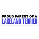 Proud Parent of a Lakeland Terrier Car Sticker