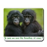 Lola ya bonobo Mousepad