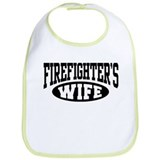 Firefighter's Wife Bib