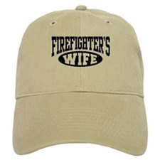 Firefighter's Wife Baseball Cap