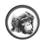 Friends of Bonobos Wall Clock