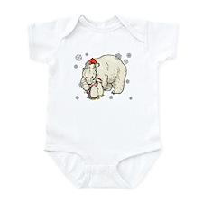 Christmas Polar Bear Infant Bodysuit