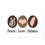 Peace Love Taiwan Postcards (Package of 8)