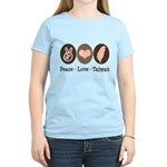 Peace Love Taiwan Women's Light T-Shirt