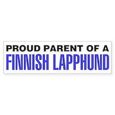 Proud Parent of a Finnish Lapphund Bumper Sticker