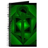 Gothic Ankh Journal (Green)