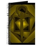 Gothic Ankh Journal (Gold)