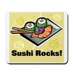 Sushi Rocks Mousepad