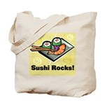 Sushi Rocks Tote Bag