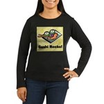 Sushi Rocks Women's Long Sleeve Dark T-Shirt