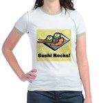 Sushi Rocks Jr. Ringer T-Shirt