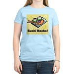 Sushi Rocks Women's Light T-Shirt