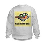 Sushi Rocks Kids Sweatshirt