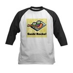 Sushi Rocks Kids Baseball Jersey