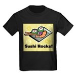 Sushi Rocks Kids Dark T-Shirt