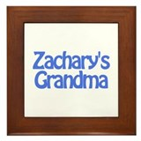 Zachary's Grandma Framed Tile