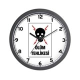 Electric Danger, Turkey Wall Clock