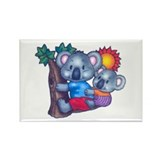 Cute Koalas Rectangle Magnet (10 pack)