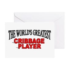 """""""The World's Greatest Cribbage Player"""" Greeting Ca"""