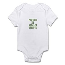 Powered By Alfalfa Sprouts Infant Bodysuit