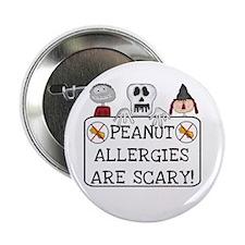 Halloween Peanut Allergy Button