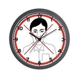 No Laughing, Cambodia Wall Clock