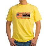 Free Lauren-1 Yellow T-Shirt