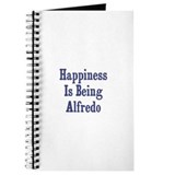 Happiness is being Alfredo Journal