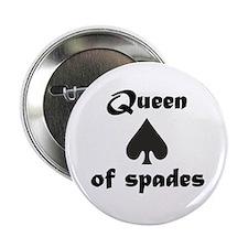 Queen of Spades Button