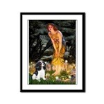 Fairies / Cavalier Framed Panel Print