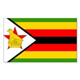 Zimbabwe Rectangle Decal