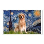 Starry Night / Golden Sticker (Rectangle)