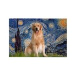 Starry Night / Golden Rectangle Magnet (10 pack)
