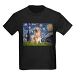 Starry Night / Golden Kids Dark T-Shirt