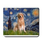 Starry Night / Golden Mousepad