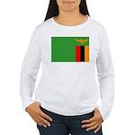 Zambia Women's Long Sleeve T-Shirt