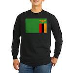 Zambia Long Sleeve Dark T-Shirt