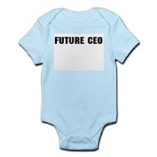 Future CEO Infant Creeper